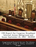 Crs Report for Congress, Angele A. Gilroy, 1293248681