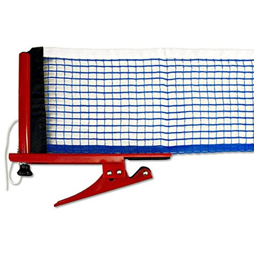 Killerspin Table Tennis Clip-On Net & Post Set - Definitely the Easiest Net & Post Set to Assemble