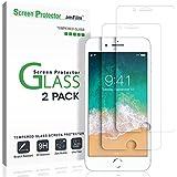 "amFilm iPhone 8, 7, 6S, 6 Screen Protector Glass, amFilm Tempered Glass Screen Protector for Apple iPhone 8, 7, iPhone 6S, iPhone 6 [4.7"" inch] 2017 2016, 2015 (2-Pack)"