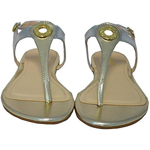 Bamboe Nadya-30 Sandalen Voor Dames, Goud