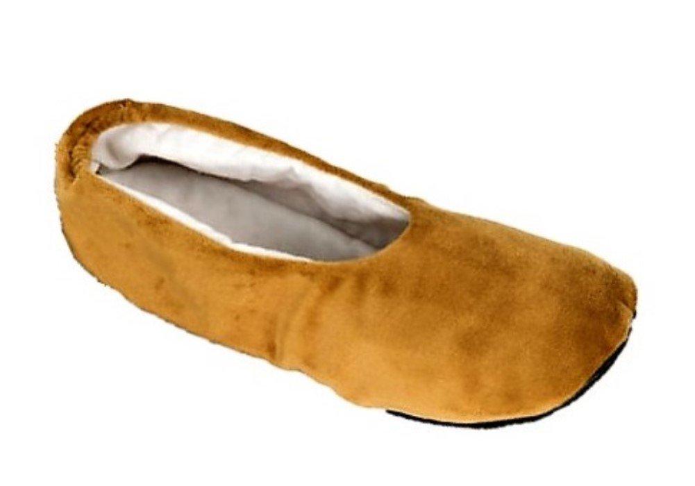 Slip on Pedi (Small/Medium) - Moisturizing Gel Slippers with Essential Oils - Treats Dry Heels and Cracking Feet
