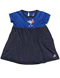 Toronto Blue Jays Infant Girls 7th Inning Twirl Dress