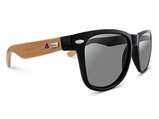 cab9fdeaf9f TREEHUT¨ Wooden Bamboo Sunglasses Temples Classic Bali Retro Square Wood  Sunglasses