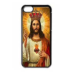 Hard back shell with Kind Jesus style for iPhone 5C