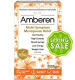 Amberen - Menopause Relief Supplement for Hot Flashes, Irritability, Sleeplessness, Low Libido, Joint & Muscle Pain and Other Symptoms of Menopause (1-months course)