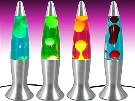 Signes Grimalt Lampe à lave 40 cm Plusieurs couleurs disponibles