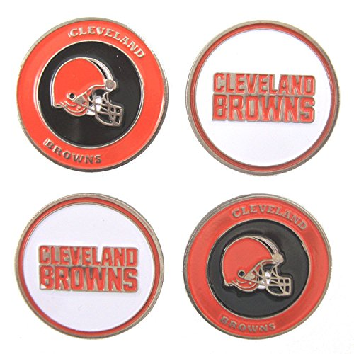 Cleveland Browns Golf Ball Markers (Set of 4)