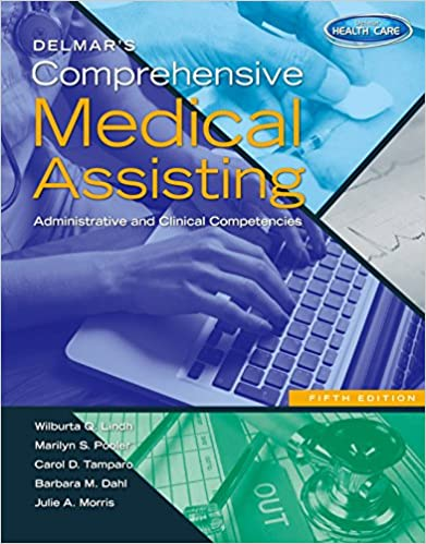 Delmars comprehensive medical assisting administrative and delmars comprehensive medical assisting administrative and clinical competencies kindle edition by wilburta q lindh marilyn pooler carol d tamparo fandeluxe Gallery