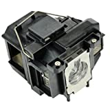 E-touch ELPLP67 / V13H010L67 Replacement projector Lamp with housing for EPSON EX3210/EX3212/EX5210/EX6210/EX7210/MG-50/MG-850HD;EPSON PowerLite 1221/1261W/S11/W16/W16SK/X12/X15/VS210/VS310/VS315W/VS320;EPSON PowerLite Home Cinema 500/707/710HD/750HD