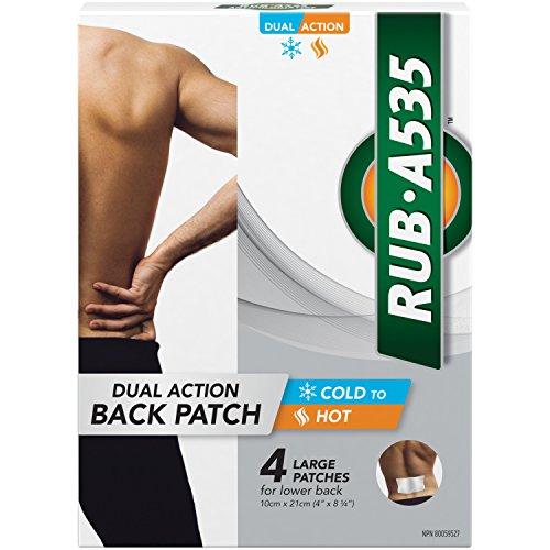 Rub A535 Dual Action Back Patch - 4 Patches (4