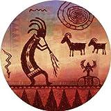 Kokopelli Petroglyph - Thirstystone Coaster Set