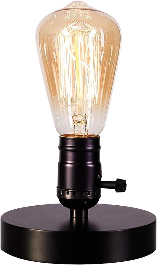 Amazon.com: licperron Vintage Lámpara de computadora holeder ...