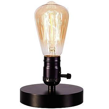 Vintage Table Lamp Base Licperron E26 E27 Industrial Vintage Desk