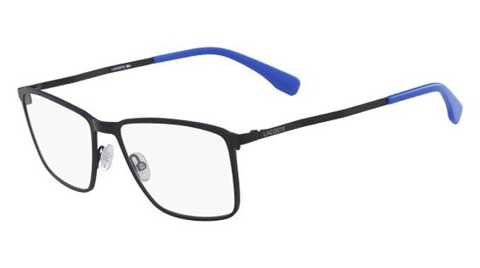 51a6ea20b4 Eyeglasses LACOSTE L 2239 002 MATTE BLACK at Amazon Men s Clothing ...