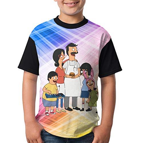 Bobs Burgers Youth Raglan Short Sleeve Tee Casual Crew Neck T-Shirt M]()