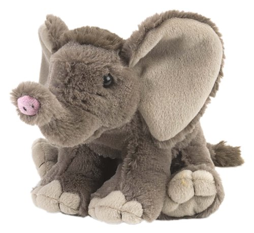 - African Elephant Baby Stuffed Animal, Plush Toy by Wild Republic, Gifts for Kids, Cuddlekins 8 Inches