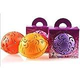 Fashion Bubble Bra Double Ball Laundry Wash Washing Ball (Purple) by Winfashions