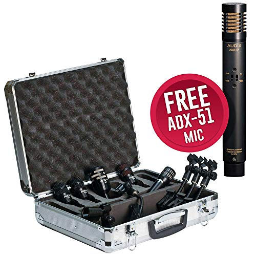 Audix DP5A Plus Drum Microphone Package