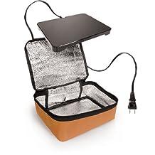 Hot Logic 16801060003 Mini-Mac Personal Portable Oven, Orange by Hot Logic