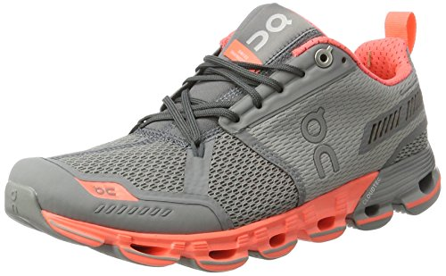 On Running Cloudflyer Slate/Flash W 11, Zapatillas de Running para Mujer, Gris (Slate / Flash), 43 EU