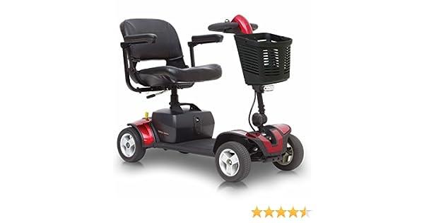 Pride Go-Go Elite Traveller Sport Mobility Scooter - Red by Pride: Amazon.es: Salud y cuidado personal