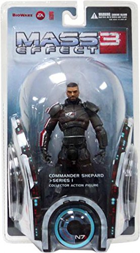 Big Fish Toys Mass Effect 3: Series 1: Shepard Action Figure