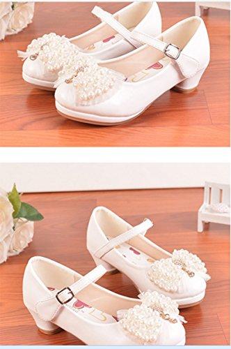 Ohmais Kinder Mädchen flach Freizeit Sandalen Sandaletten Kleinkinder Mädchen Halbschuhe Sandalette Ballerinas Beige