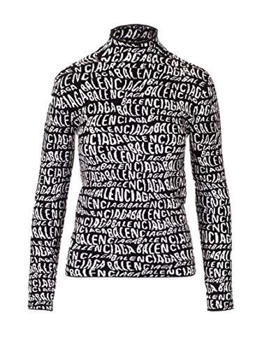 Balenciaga Luxury Fashion Womens 583159T51221070 Black Sweater | Fall Winter 19