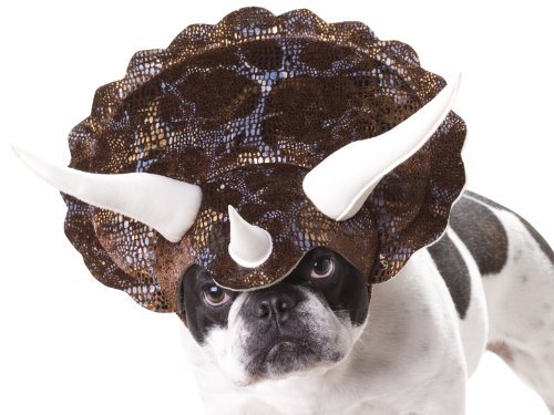 Animal Planet PET20104 Triceratops Dog Costume, Large -