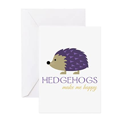 Amazon Cafepress Happy Hedgehogs Greeting Cards Greeting