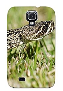 Storydnrmue MRMTfg-6901-JmRcQ Case Cover Skin For Galaxy S4 (Animal Eastern Diamondback Rattlesnake)/ Nice Case With Appearance