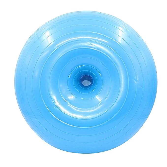 Tbyy Donut Pelota de Yoga Gruesa a Prueba de explosiones Inflable ...