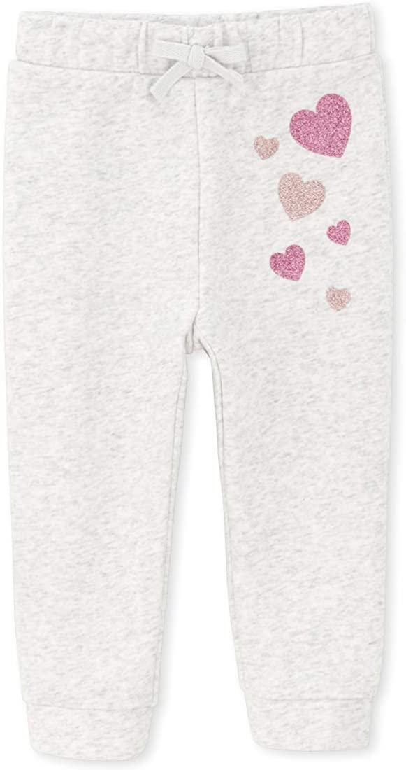 The Childrens Place Baby Girls Graphic Jogger