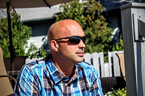 Eye Love Polarized Fishing Sunglasses for Men, Made w/ Light, Military-Grade, Unbreakable Metal
