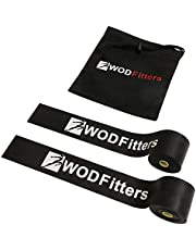 WODFitters Floss Bands - Compression Tack & Flossing, Mobility & Recovery - With Carrying Case - 2 Pack