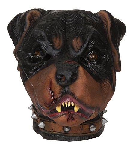 Bristol Novelty BM471 Zombie Rottweiler Mask (One Size)
