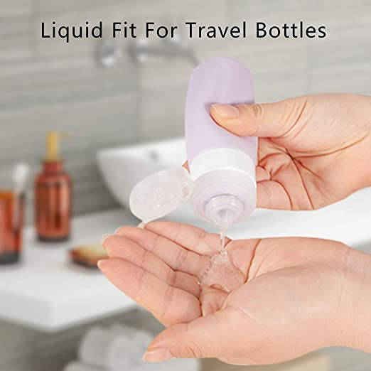 Amazon.com: Botellas de viaje sincewo, contenedores de viaje ...