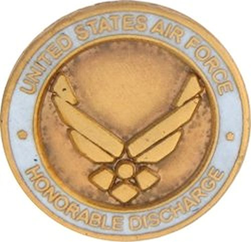 (U.S. Air Force Honorable Discharge Small Pin)