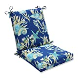 Pillow Perfect Outdoor/Indoor Daytrip Pacific Squared Corners Chair Cushion
