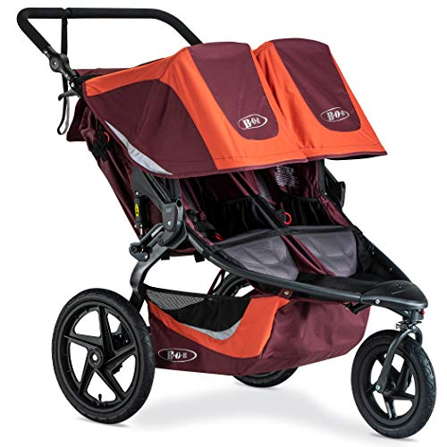 BOB Revolution Flex 3.0 Duallie Jogging Stroller, Sedona Orange