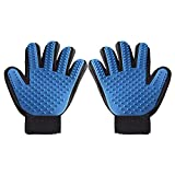 Kitchen Appliance Packages Currys Cideros 2Pcs Efficient Pet Grooming Glove Mitts Touch Deshedding Tool Gentle Pet Massage Brush for Long and Short Hair Dogs Cats Bunnies Horses