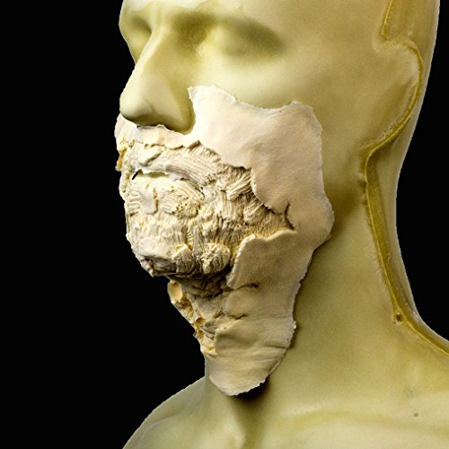 Rubber Wear Foam Latex Prosthetic - Large Zombie