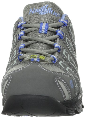 Nautilus 1391 Women's ESD Comp Safety Toe No Exposed Metal Athletic Shoe,Grey,8 W US