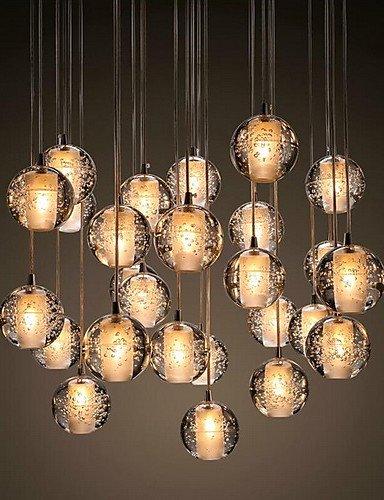 Hängeleuchten Beleuchtung Hängeleuchten Led G4 3W Retroifit Verchromen Crystal modernen/zeitgenössischen Hängeleuchten Beleuchtung Hängeleuchten LED-Leuchte für Esszimmer , Warmweiß-90-240v