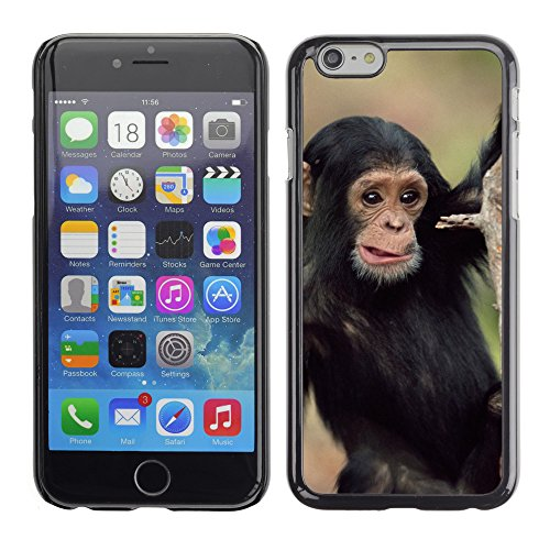 Premio Sottile Slim Cassa Custodia Case Cover Shell // V00004056 jeune chimpanzé gombe escalade // Apple iPhone 6 6S 6G PLUS 5.5""