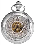 AMPM24 New Classic Skeleton Case Men's Mechanical Pocket Watch WPK017
