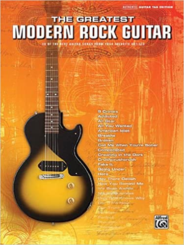 Amazon.com: Modern Rock Hits Easy Guitar Play-Along Guitar Tab ...