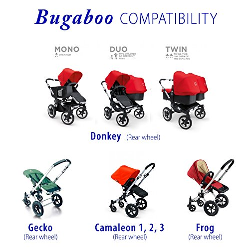 rear tire & tube for Bugaboo Donkey Duo by Lineament (Image #1)