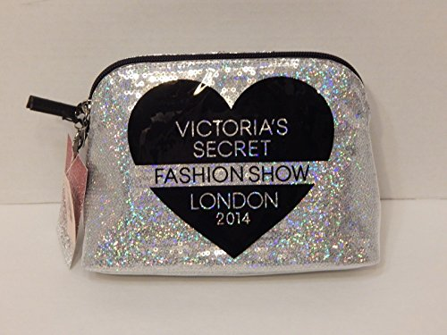Victorias Secret Fashion Show London 2014 Sequin Silver Cosmetic Bag