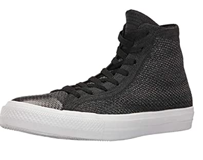 176d04c11c5f1e Converse Chuck Taylor All Star CTAS Flyknit HI Black Anthracite White Mens  UK 5.5 EU 38  Amazon.co.uk  Shoes   Bags
